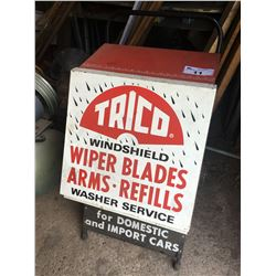 TRICO WINDSHIELD WIPER STORE DISPLAY WITH CONTENTS