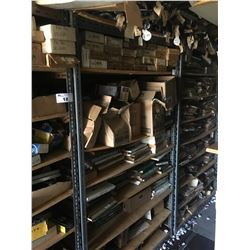 2 ENTIRE SHELF LOTS OF ASSORTED NEW OLD STOCK CAR PARTS