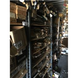 ENTIRE SHELF LOT OF ASSORTED NEW OLD STOCK CAR PARTS