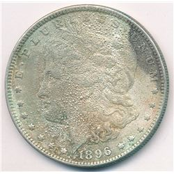 1896 WORLD'S WORST MORGAN?? SILVER COIN