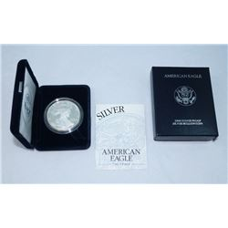 1994 PROOF SILVER EAGLE WITH BOX & COA ORIGINAL GOVERNMENT PACKAGING