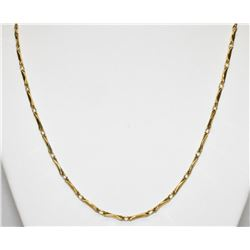 "18K FINE GOLD NECKLACE, 21.4 grams! 22"" Length"