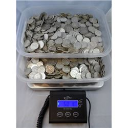 FIFTY (50) POUNDS LBS MIXED 90% U.S. SILVER COINS!!