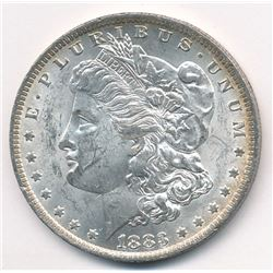 1883-O Morgan Silver Dollar with minor toning MS63 Quality
