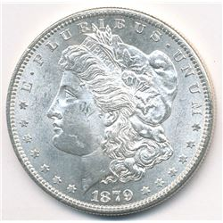 1879-S Morgan Silver Dollar MS63 Condition