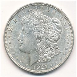 1921 MORGAN SILVER DOLLAR - ALMOST MINT CONDITION!