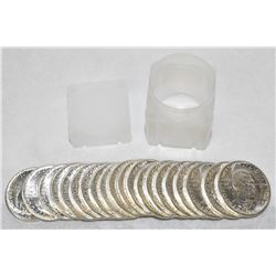 1951 MINT CONDITION ROLL OF BOOKER T. WASHINGTON SILVER HALF DOLLARS (20-COINS)