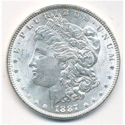 MORGAN SILVER DOLLAR 1887 BEAUTIFUL COLLECTIBLE CONDITION