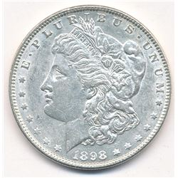 MORGAN SILVER DOLLAR 1898 BEAUTIFUL COLLECTIBLE CONDITION