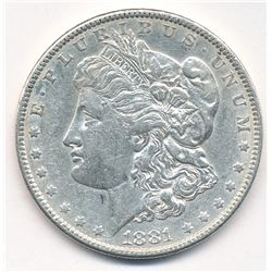 MORGAN SILVER DOLLAR 1881 BEAUTIFUL COLLECTIBLE CONDITION