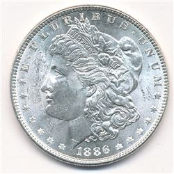MORGAN SILVER DOLLAR 1886 BEAUTIFUL COLLECTIBLE CONDITION