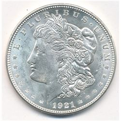 MORGAN SILVER DOLLAR 1921 BEAUTIFUL COLLECTIBLE CONDITION
