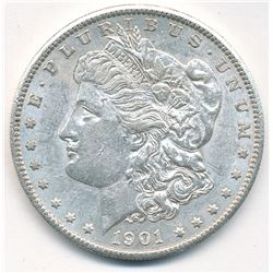 MORGAN SILVER DOLLAR 1901-S BEAUTIFUL COLLECTIBLE CONDITION