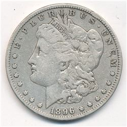 MORGAN SILVER DOLLAR 1896 BEAUTIFUL COLLECTIBLE CONDITION