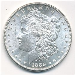 MORGAN SILVER DOLLAR 1885 BEAUTIFUL COLLECTIBLE CONDITION