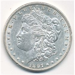 MORGAN SILVER DOLLAR 1897 BEAUTIFUL COLLECTIBLE CONDITION