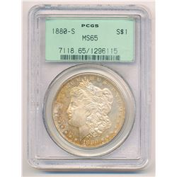 1880-S MS65 PCGS Morgan Silver Dollar