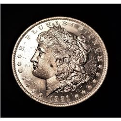 1891-O Solid MS64 Quality Morgan Silver Dollar-Very Lusterous example LISTS FOR OVER $600