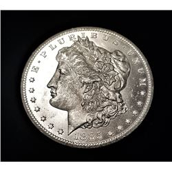 1885-CC Carson City WHITE FROST *MS63+ Quality* Morgan Silver Dollar