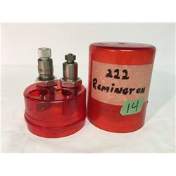 GR OF 2, LEE, .222 RELOADING DIES