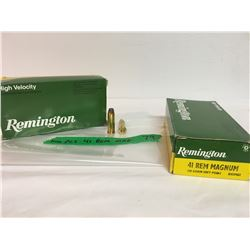 100 PCS, .41 REM MAG, REMINGTON