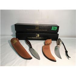 GR OF 2, GORHMANN BELT KNIVES, CANADIAN MADE