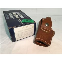 SMITH & WESSON LEATHER HOLSTER, AS NEW