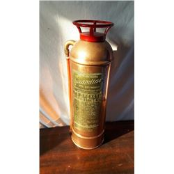 COPPER GUARDIAN FIRE EXTINGUISHER, APPROX 2'