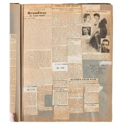 Vincente Minnelli (2) career scrapbooks.