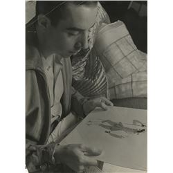 Vincente Minnelli early portrait photograph by Alfred Eisenstaedt.