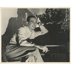 Vincente Minnelli (8) portrait and set design photographs.