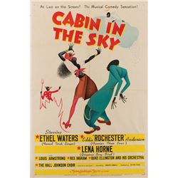 Vincente Minnelli 1-sheet Style C poster for his first film, Cabin in the Sky.