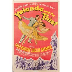 Vincente Minnelli 1-sheet poster for Yolanda and the Thief.