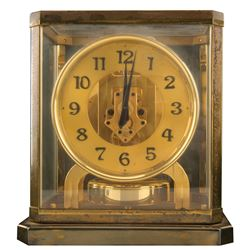 Vincente Minnelli art deco Atmos clock gifted to him by Judy Garland.