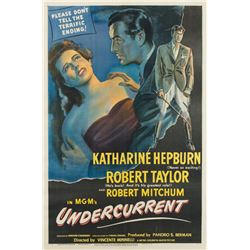Vincente Minnelli 1-sheet poster for Undercurrent.