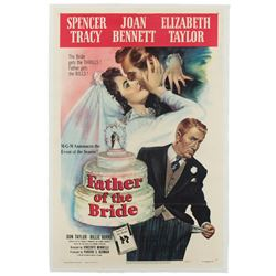 Vincente Minnelli 1-sheet poster for Father of the Bride.