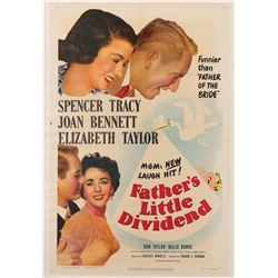 Vincente Minnelli 1-sheet poster for Father's Little Dividend.