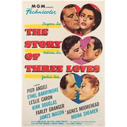 Vincente Minnelli 1-sheet poster The Story of Three Loves.