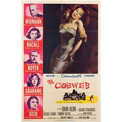 Vincente Minnelli 1-sheet poster from The Cobweb.