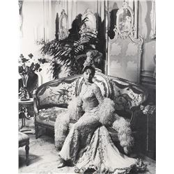Leslie Caron exhibition photograph from Gigi by Cecil Beaton.