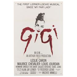 Vincente Minnelli (2) military 1-sheet posters for Gigi.