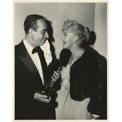 Vincente Minnelli (5) custom photographs from 1959 Academy Awards ceremony.