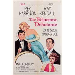 Vincente Minnelli 1-sheet poster for The Reluctant Debutante.
