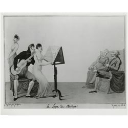 Vincente Minnelli (100+) studio research photos for Gigi and On a Clear Day You Can See Forever.