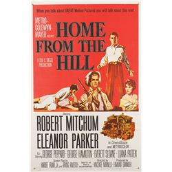 Vincente Minnelli 1-sheet poster for Home from the Hill.