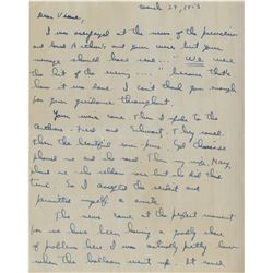 Vincente Minnelli (90+) telegrams, letters and notes pertaining to his film career.