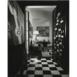 Julius Shulman (40+) photographs of Mid-Century Modern and Hollywood Regency interiors.