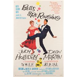 Vincente Minnelli 1-sheet poster for Bells Are Ringing.