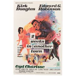 Vincente Minnelli 1-sheet poster for Two Weeks in Another Town.