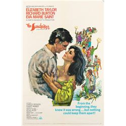 Vincente Minnelli 1-sheet poster from The Sandpiper.